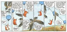 I finished reading the complete, collected edition  of Richard Thompson's Cul de Sac recently, and it's immensely satisfying to ingest a w...