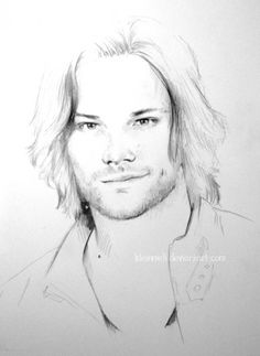 Image Detail for - SPN - Jared Padalecki by =kleinmeli on deviantART .I really like this style of drawing. Supernatural Drawings, Supernatural Fan Art, Supernatural Pictures, Jensen Ackles, Jared Padalecki, Sam Winchester, Superwholock, American Horror Story, Art Drawings
