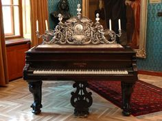 Chickering Antique Grand Piano. My favorite pianos. :)