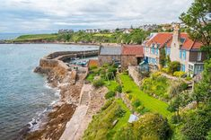 The UK's prettiest small towns and villages revealed Fife Coastal Path, Gower Peninsula, Fife Scotland, Boutique Spa, Visit Uk, Duck Pond, Rock Pools, Top Destinations, Architecture Old
