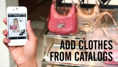 Stylebook app - create outfits on your iphone with your own clothes! #fashion #closet #iphone
