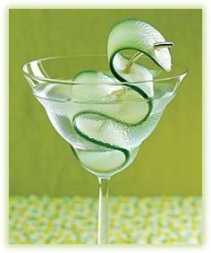 For Thirsty Thursday!  Make your own cucumber infused vodka,  plus, cucumber saki-tini and cucumber mojito recipes!