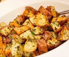 Herb Roasted Red Potatoes in the NuWave Oven