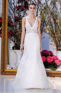 Anne Barge Spring 2017 Wedding Dress Collection, Bridal Fashion Week