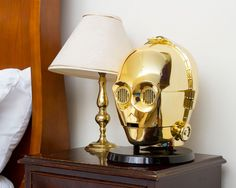 star wars bluetooth speakers amplify sound through C-3PO + stormtrooper heads