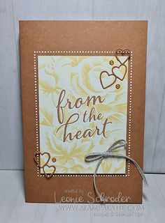 Flowers for Every Season - Stamp A Latte - Leonie Schroder Stampin' Up!® Demonstrator Australia