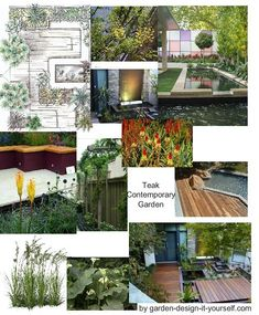 Garden Design Mood Board garden design mood board for a country garden http://www.my-garden