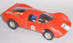 Vintage Scalextric spares Ferrari P4 headlight lenses