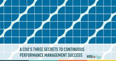 A COO's Three Secret