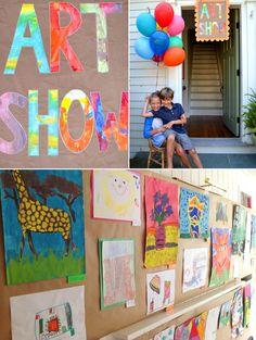 Neighborhood Art Show // foster creativity + celebrate community