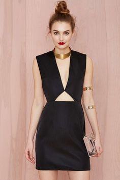 Solace London Tyler Cutout Dress | Shop Dresses at Nasty Gal