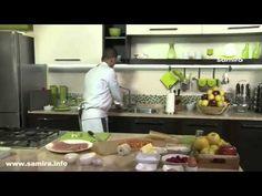 Samira TV   طريقة تحضير هليلات بالجبن + رولي بالديك الرومي و الخضر + تارت بالتفاح و الكرز