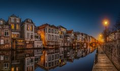 Reflections of Gorinchem IV - Wonderful Gorinchem, only a 15 mile drive away from where I live on a gorgeous evening this time in March