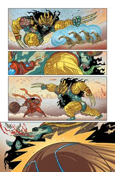18 days Comic - Story of Gatotkach on Behance