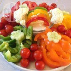 Rezeptbild: Gemüse Dip für den Kindergeburtstag