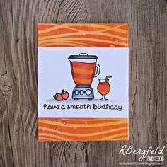 RBergfeld Card Designs: Smooth Birthday - Lawn Fawn, So Smooth