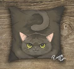 Black cats symbolize fortune and luck. This one here, however, keeps some fortune for herself underneath. Contact us for any issues or questions: runnyrain@gmail.com