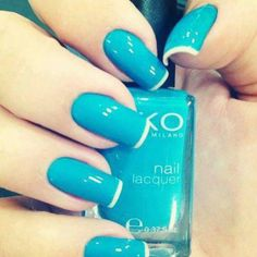 Like the color with the french tip