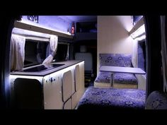 Customize your van to your own liking and with your needs in mind