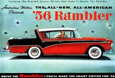 1956 AMC Rambler - Promotional Advertising Poster