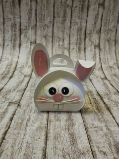 Creative with Lotsche:  Just bend his cute little ear and you have a bunny with personality!