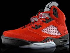 a99ad3f8bad Nike Air Jordan 5 V 'Raging Bull' Defining Moments Package II Varsity Red /  White / Black