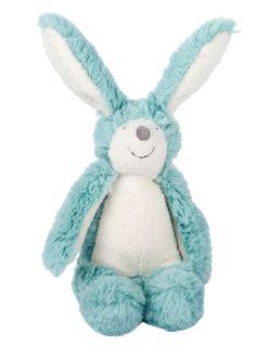 Moulin Roty Bande à Basile Blue Bunny Rattle #easter #eastergiftidea
