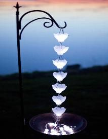 Home - Solar Rain Chains  I WANT I WANT I WANT!!!