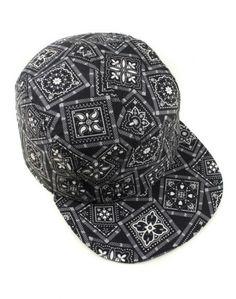 Mödernaked - Black Bandanna Cap af86d9519ce