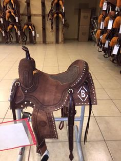 Tami Semas saddle - Jeff Smith