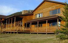 This is the Patty Hyde Barclay Cabin at the YMCA of the Rockies in Estes Park, Colorado - just outside Rocky Mountain National Park. Perfect spot for the next family reunion - it sleeps up to 88!