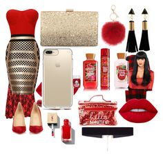 """""""Date night"""" by dajianjackson on Polyvore featuring WearAll, Étoile Isabel Marant, Timberland, Lime Crime, Christian Louboutin, Neiman Marcus, Speck, L.K.Bennett and 8 Other Reasons"""
