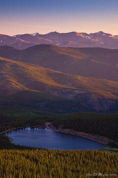 Mount Evans, Echo Lake, Colorado