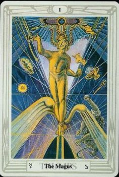 Crowley Thoth Tarot ► The Magus