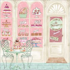 WS250 La Patisserie - Phoenix Trading greetings card.  £1.50 or save 20% when you buy 10+ assorted cards.