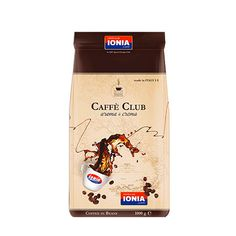 De Caffe' Club is the newest flavour coffee beans in the IONIA familia!