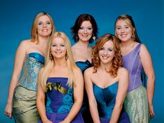 The original five ladies of Celtic Woman (2005) Meav, Orla, Clhoe, Mairead, Lisa (March 2005)