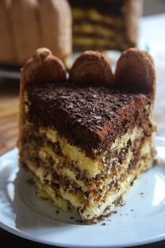 Tiramisu Cake...If you like tiramisu, this cake is for you!!