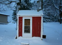 Our little sauna