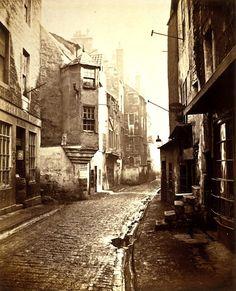 Cardinal Beaton's House, Cowgate - Edinburgh - 1868