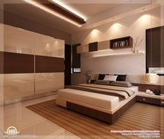 Beautiful Decoration In Interior Designers The House With Decorating A Bedroom Design Bed Beige Brown Carpet Countertop Cabinets Fitted Bookcase Modern Design Beautiful Home Interiors Bedroom Designs India, Indian Bedroom Design, Bedroom Cupboard Designs, Wardrobe Design Bedroom, Master Bedroom Interior, Luxury Bedroom Design, Bedroom Closet Design, Home Room Design, Home Interior Design