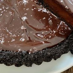 Dark Chocolate Tart - Barefoot Contessa
