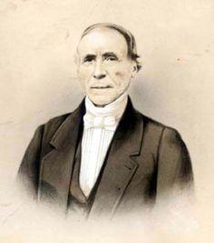 Portrait de Joseph Coste, capitaine au cabotage.  Le Croisic, le 3 Mars 1854