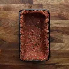 Lasagne Stuffed Meatloaf