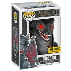 Figurine Drogon adulte (Game Of Thrones) - Figurine Funko Pop