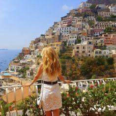 #Positano #Italy #Travel #AmalfiCoast #LeSirenuse #AvaTravel