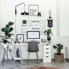 47 Inspiring Home Office Organization Ideas – Office Room Home Office Space, Home Office Design, Home Office Decor, Home Decor, Office Decorations, Office Workspace, Home Office Bedroom, Home Ideas Decoration, Work Desk Decor