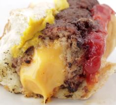 Cheese-Stuffed Burger Dogs | 83 Insanely Popular Dinners That Are Practical And Easy