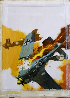 David Roach is one of the unsung heroes of comic archivism. Without David we wouldn't have had one of the most comprehensive listings of the. Fighter Aircraft, Ww2 Aircraft, Military Aircraft, Focke Wulf 190, Airplane Art, Airplane Fighter, Air Fighter, War Comics, Aircraft Pictures