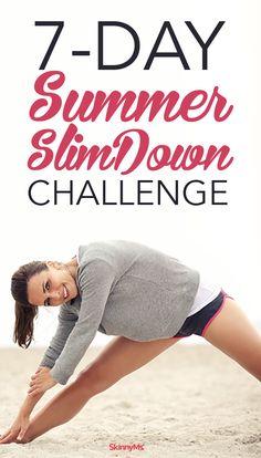 7-Day Slim Down Challenge
